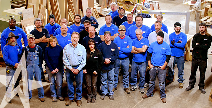 The American Woodworking Team